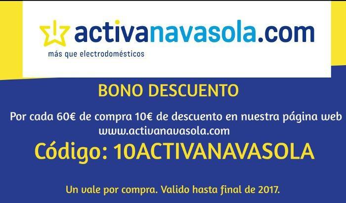 Bono descuento Activa Navasola